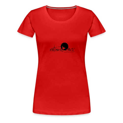 natural chick head - Women's Premium T-Shirt