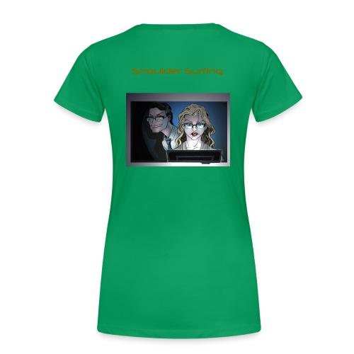 HA Shoulder Surf shirt png - Women's Premium T-Shirt