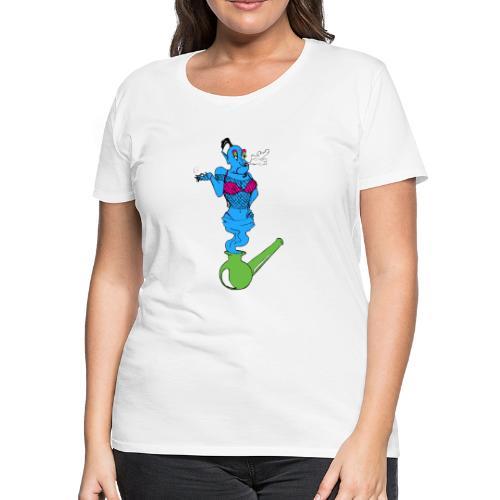 crackpipegenie - Women's Premium T-Shirt