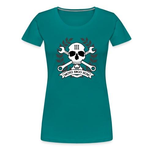 Moto Ergo Sum - Women's Premium T-Shirt