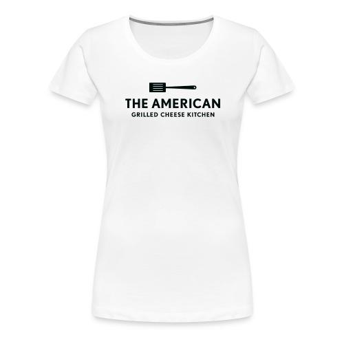 TAGCK Ringer Shirt-White/Black - Women's Premium T-Shirt