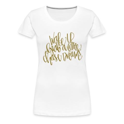thick wake up - Women's Premium T-Shirt