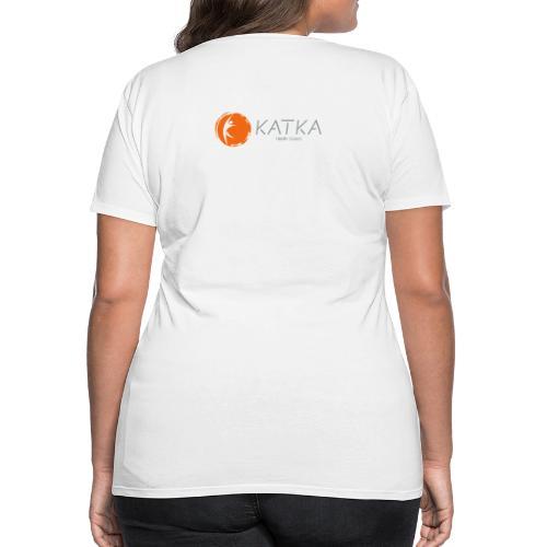 katka_logo_full_c - Women's Premium T-Shirt