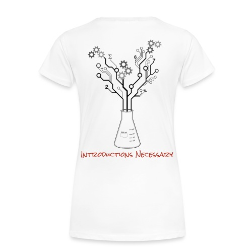 IN Logo Fixed - Women's Premium T-Shirt