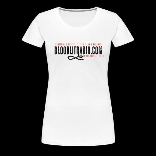 Bloodlit Radio 1 - Women's Premium T-Shirt