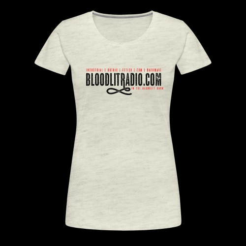 Bloodlit Radio 1 - Women's Premium T-Shirt