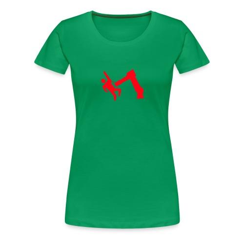 Robot Wins - Women's Premium T-Shirt