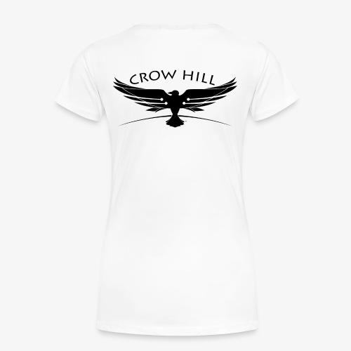 Crow Hill Band Black Logo - Women's Premium T-Shirt