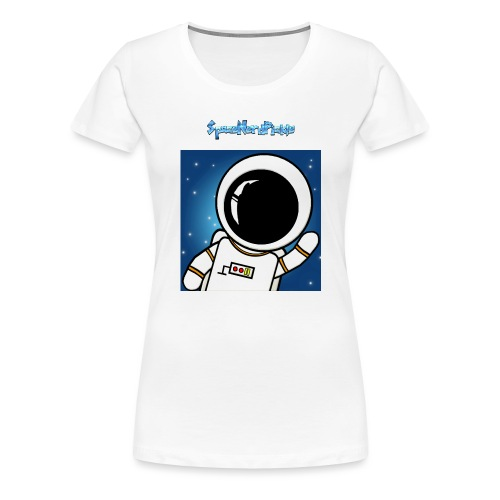 Cool Text SpaceNerdPickle - Women's Premium T-Shirt