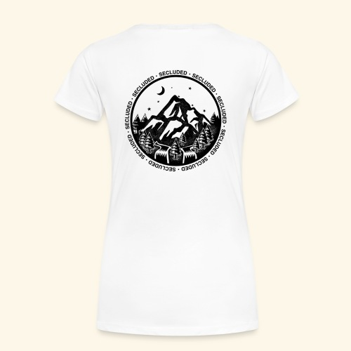 Bellingen Mountain Ranges - Women's Premium T-Shirt