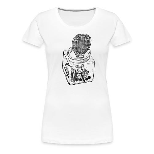 the squash jar - Women's Premium T-Shirt