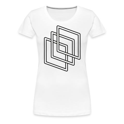 Scholar-white - Women's Premium T-Shirt