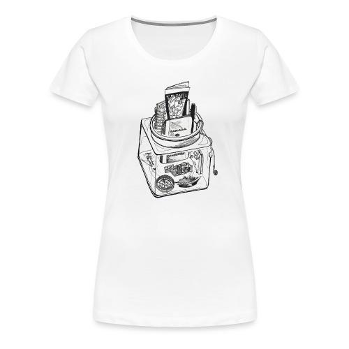 the travellers jar - Women's Premium T-Shirt