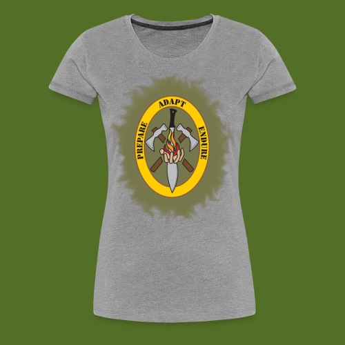 Bug Out Boys Logo - Women's Premium T-Shirt