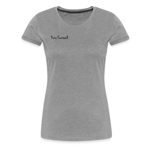 Yung Crosswalk - Women's Premium T-Shirt