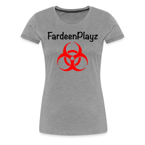 FardeenPlayz At Top W/ Logo - Women's Premium T-Shirt