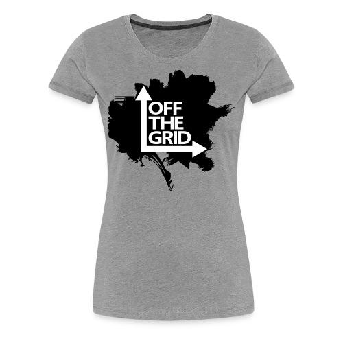 OFF THE GRID Grunge - Women's Premium T-Shirt