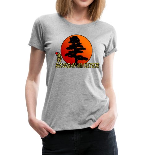 Bonsai Master Shirt Japanese Rising Sun Shirt Gift - Women's Premium T-Shirt
