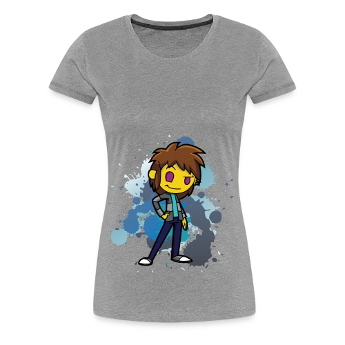 Darkar Paint Blue - Women's Premium T-Shirt
