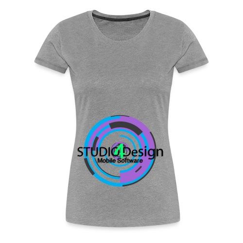 S4DLogo - Women's Premium T-Shirt