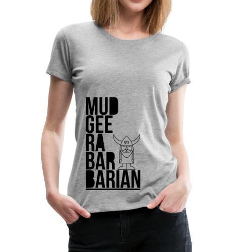 Mudgee Stack Black - Women's Premium T-Shirt
