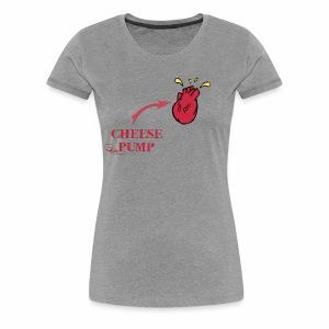 Cheesepump!! Fn Dante Savage - Women's Premium T-Shirt