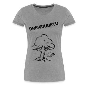 BOY FALLS FROM TREE - Women's Premium T-Shirt