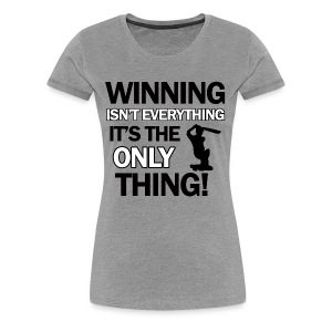 cricket wining tee - Women's Premium T-Shirt