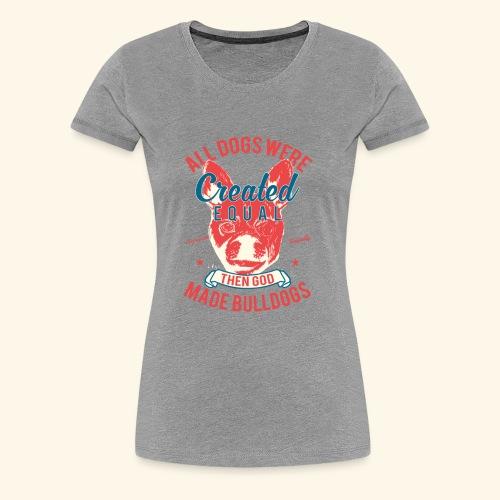 Bulldog - Women's Premium T-Shirt