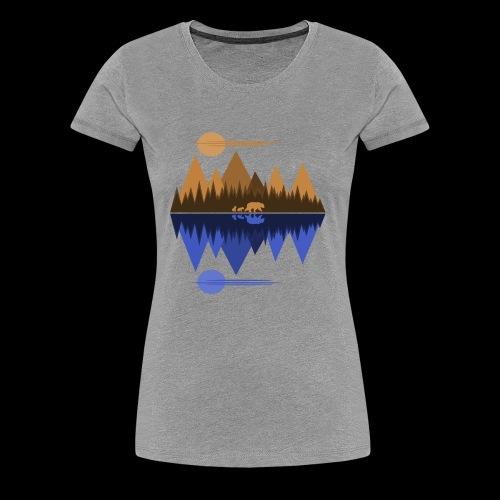 Bear and Cubs #2 - Women's Premium T-Shirt