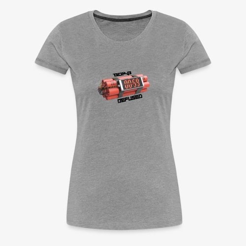 Bomb Defused!! - Women's Premium T-Shirt