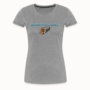 Burrito Gang Bottom Logo Shirt - Women's Premium T-Shirt