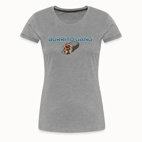 Burrito Gang Bottom Logo Shirt - Women's Premium T-Shirt