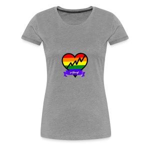 Be Yourself Gay - Women's Premium T-Shirt