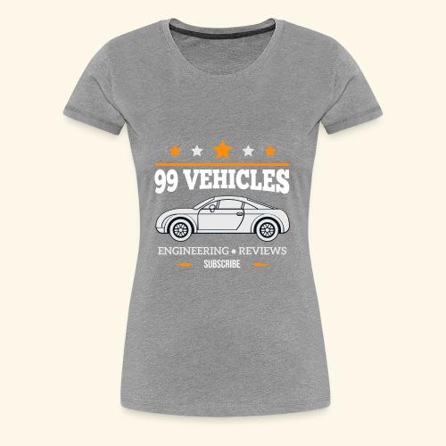 99Vehicles Tailor - Women's Premium T-Shirt