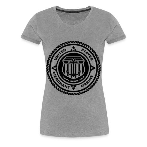 USMM Logo - Women's Premium T-Shirt