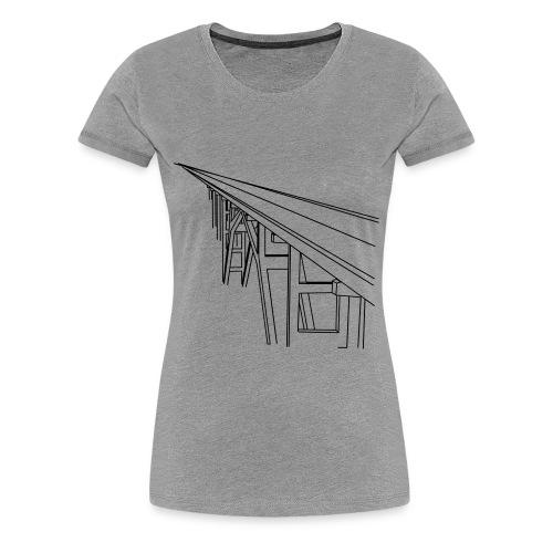 Bridge Vector - Women's Premium T-Shirt