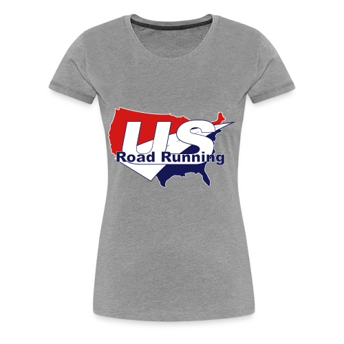 US Road Running Logo - Women's Premium T-Shirt