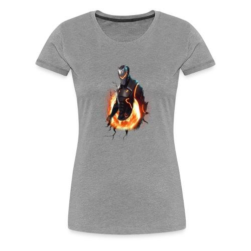 OMEGA_FORTNITE - Women's Premium T-Shirt