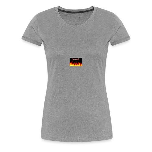 Let's rock - Women's Premium T-Shirt