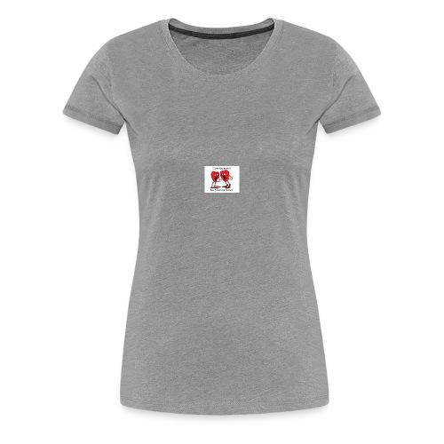 love heart talk - Women's Premium T-Shirt