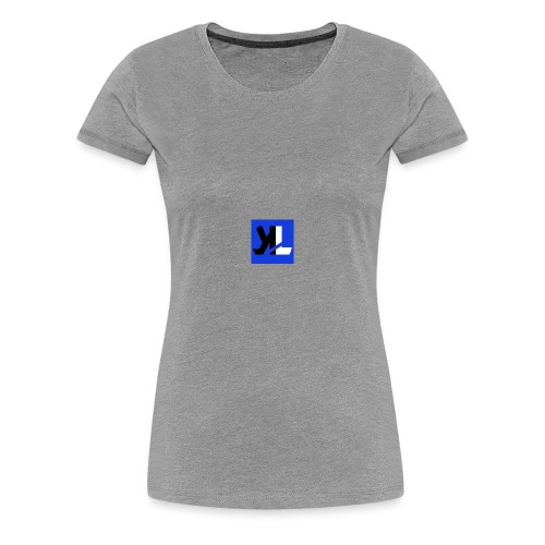 LEGENDARY KIDZ LOGO - Women's Premium T-Shirt