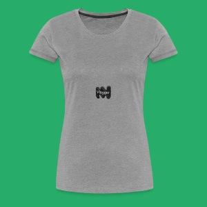 Status vlogger - Women's Premium T-Shirt