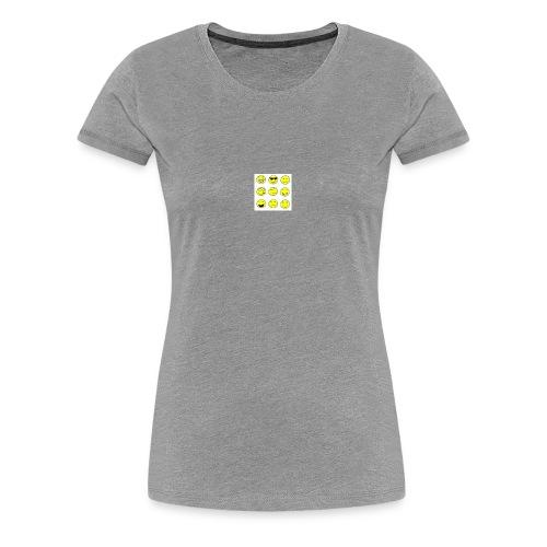 happy faces - Women's Premium T-Shirt