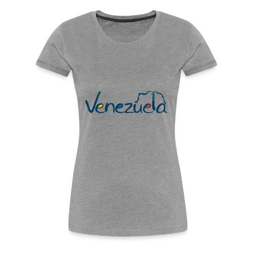 logo VZLA - Women's Premium T-Shirt