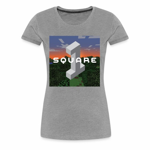 Square One Sunset Logo - Women's Premium T-Shirt