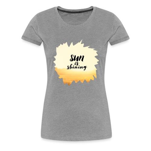 SUN2 - Women's Premium T-Shirt