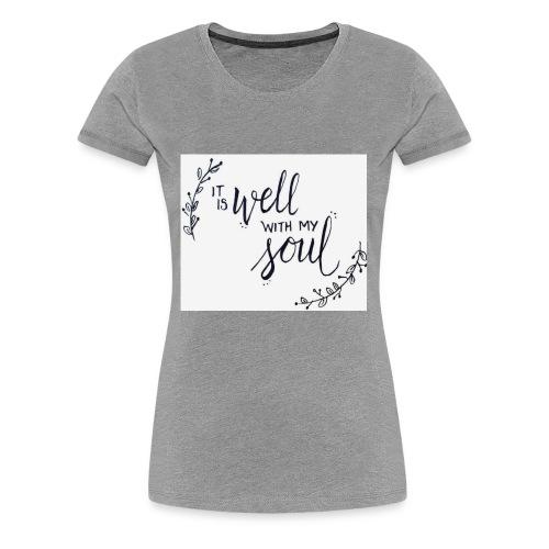 86F9E9D5 D0BA 4815 8EEB 16DA69016E53 - Women's Premium T-Shirt