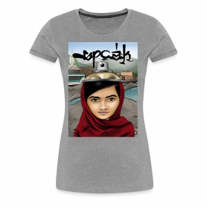 Speak - Malala Yousafzai - Women's Premium T-Shirt