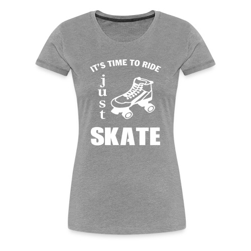 Limited Edition - TIME TO RIDE - Women's Premium T-Shirt